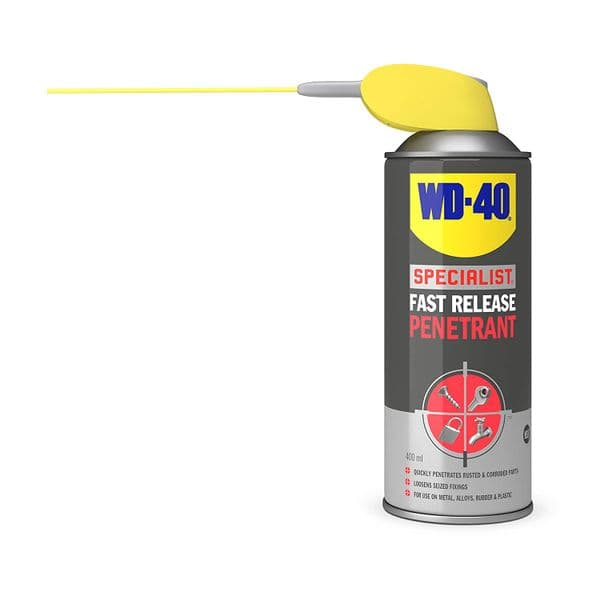 WD-40 44362 Specialist Fast Release Penetrant Spray 400ml Can